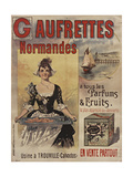 Gaufrettes Normandes Giclee Print