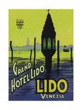 Grand Hotel Lido Giclee Print