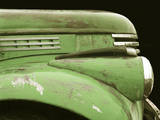 Chevy Streamline - Apple Green Photographic Print by Larry Hunter