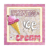 Happiness Is Ice Cream Giclee Print by Megan Aroon Duncanson