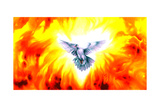 Holy Spirit Fire Giclee Print by Spencer Williams