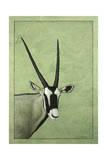 Gemsbok Giclee-trykk av James W. Johnson