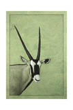 Gemsbok Giclee Print by James W. Johnson