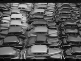 Chicago Parking Lot Photographic Print