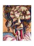 Cleopatra's Long Forgotten Blonde Period Gicléedruk van David Galchutt