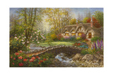 Home Sweet Home Giclee Print by Nicky Boehme