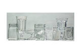 Clear Glassware Giclee Print by Laurin McCracken