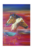 Freedom of Visions Giclee Print by Sue Clyne