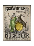 Bockbeer Green Giclee Print
