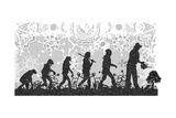 Evolution 2 Giclee Print by Teofilo Olivieri