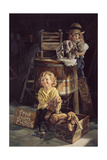 Free Clean Puppies Giclee Print by Bob Byerley