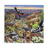 Grand Canyon Babies Giclee Print by Jenny Newland