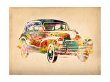 Folsfagen Car 2 Giclee Print by Mark Ashkenazi