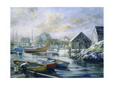 Good Catch for a Lazy Day Giclee Print by Nicky Boehme