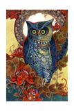 Hoot Giclee Print by David Galchutt