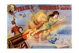 Frank Robbins Circus Giclee Print