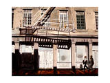 Fire Escape and Couple Giclee Print by Laurin McCracken