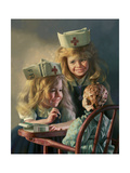Doll Hospital Giclee Print by Bob Byerley