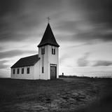 Iceland Hellnar Church Fotodruck von Nina Papiorek