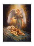 Good Night Giclee Print by Edgar Jerins