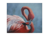 Figure 8 - Flamingo Giclee Print by Wilhelm Goebel
