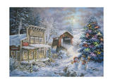 Country Shopping Giclee Print by Nicky Boehme