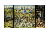 Bosch - Garden of Earthly Delights - Giclee Baskı