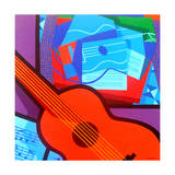Homage to Juan Gris Giclee Print by John Nolan