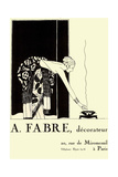 Faber Decorateur Giclee Print