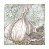 Buon Appetito Garlic Giclee Print by Megan Duncanson