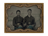 Civil War Brothers in Arms Photographic Print