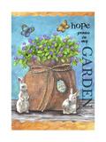 Hope Garden Giclee Print by Melinda Hipsher