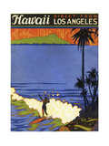 Hawaii from La Giclee Print