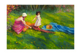 Dandelions Giclee Print by Steve Henderson
