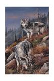 Evening Hunt Giclee Print by Trevor V. Swanson