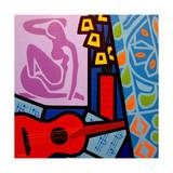 Homage to Matisse 11 Giclee Print by John Nolan