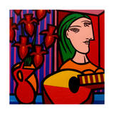 Homage to Picasso 2 Giclee Print by John Nolan