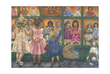 Dolls to Treasure Giclee Print by Tricia Reilly-Matthews
