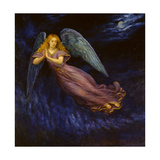 Good Night Angel Giclee Print by Edgar Jerins
