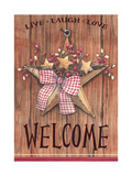Country Star Welcome Lámina giclée por Melinda Hipsher