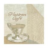 Flatiron Cafe Giclee Print by Erin Clark