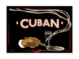 La Havane Reproduction procédé giclée