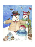 Happy Holiday Snow Giclee Print by Melinda Hipsher