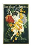 Fleurissez Vos Fenetres Giclee Print