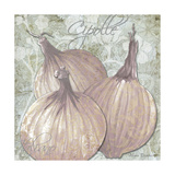 Buon Appetito Red Onions Giclee Print by Megan Duncanson