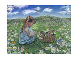 He Loves Me, He Loves Me Not Giclee Print by Tricia Reilly-Matthews