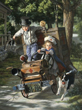 Help on the Way Giclee Print by Bob Byerley