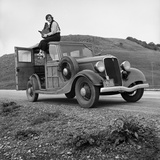 Dorothea Lange, Portrait of the Photographer Fotodruck