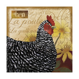 Chicken Giclee Print by Fiona Stokes-Gilbert