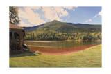 Equinox Pond I Giclee Print by John Zaccheo
